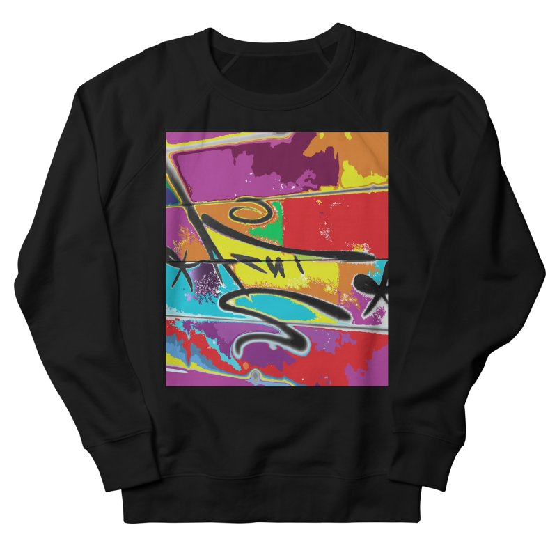 ACUT LOVES TAGS Men's French Terry Sweatshirt by Acut's Artist Shop
