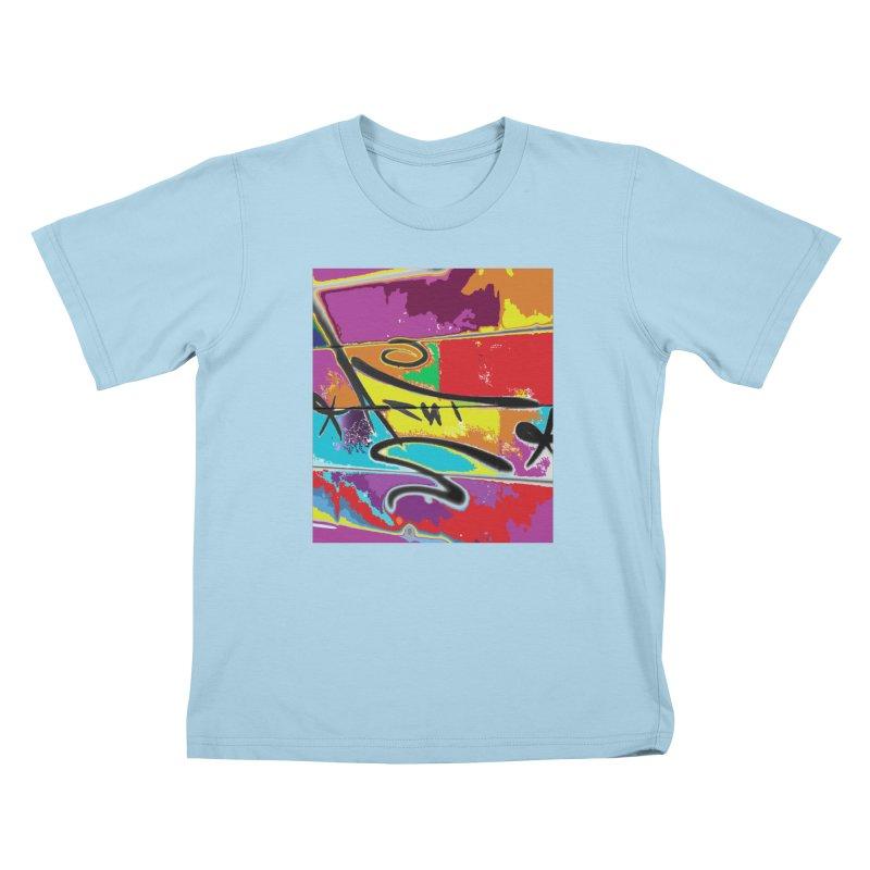 ACUT LOVES TAGS Kids T-Shirt by Acut's Artist Shop