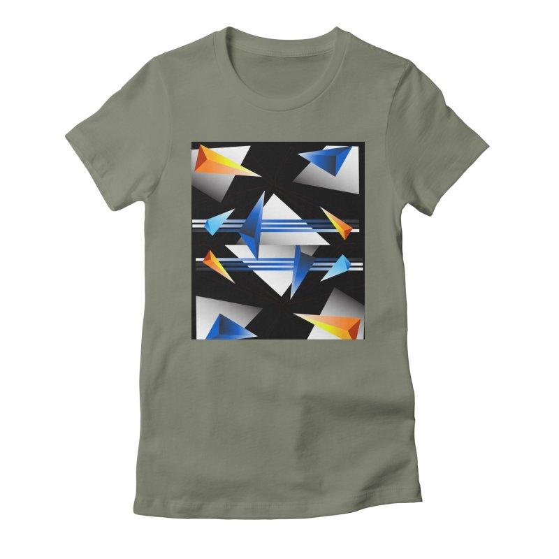 ACUT3000 Women's Fitted T-Shirt by Acut's Artist Shop