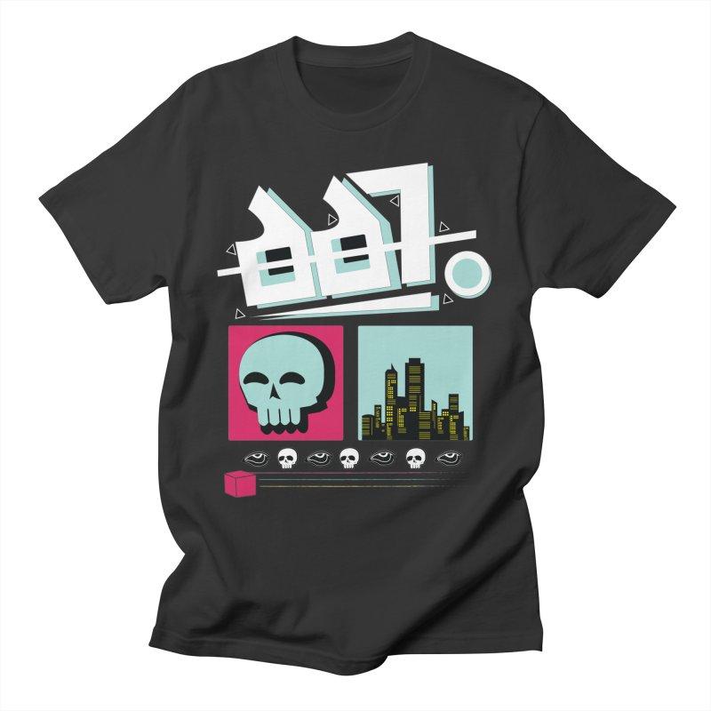 Spooky Art Men's T-Shirt by Viable Psyche