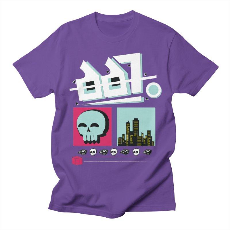 Spooky Art Men's Regular T-Shirt by Viable Psyche