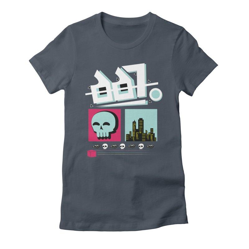 Spooky Art Women's T-Shirt by Viable Psyche
