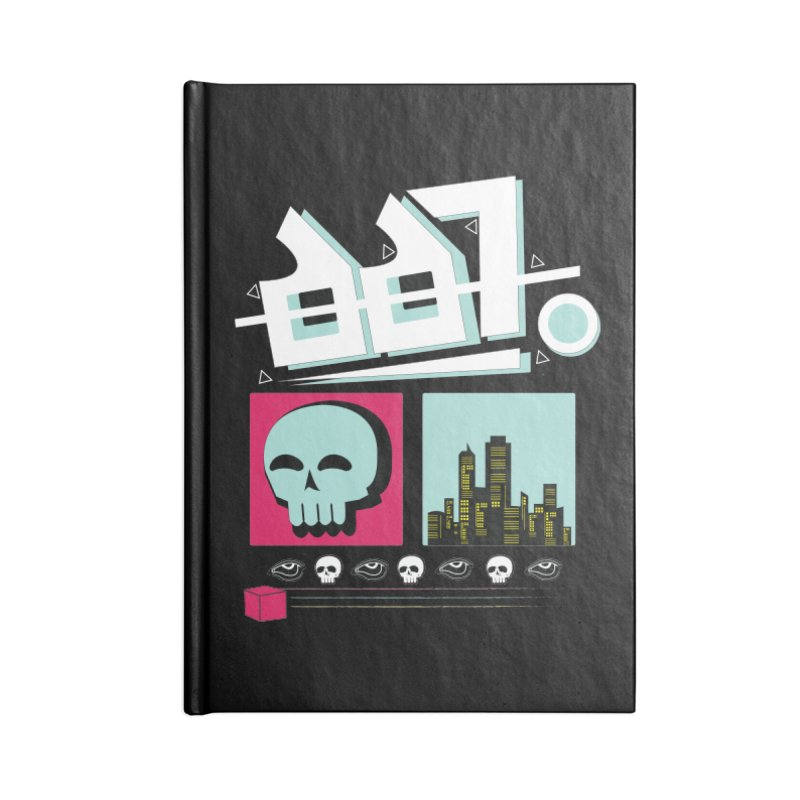 Spooky Art Accessories Notebook by Viable Psyche