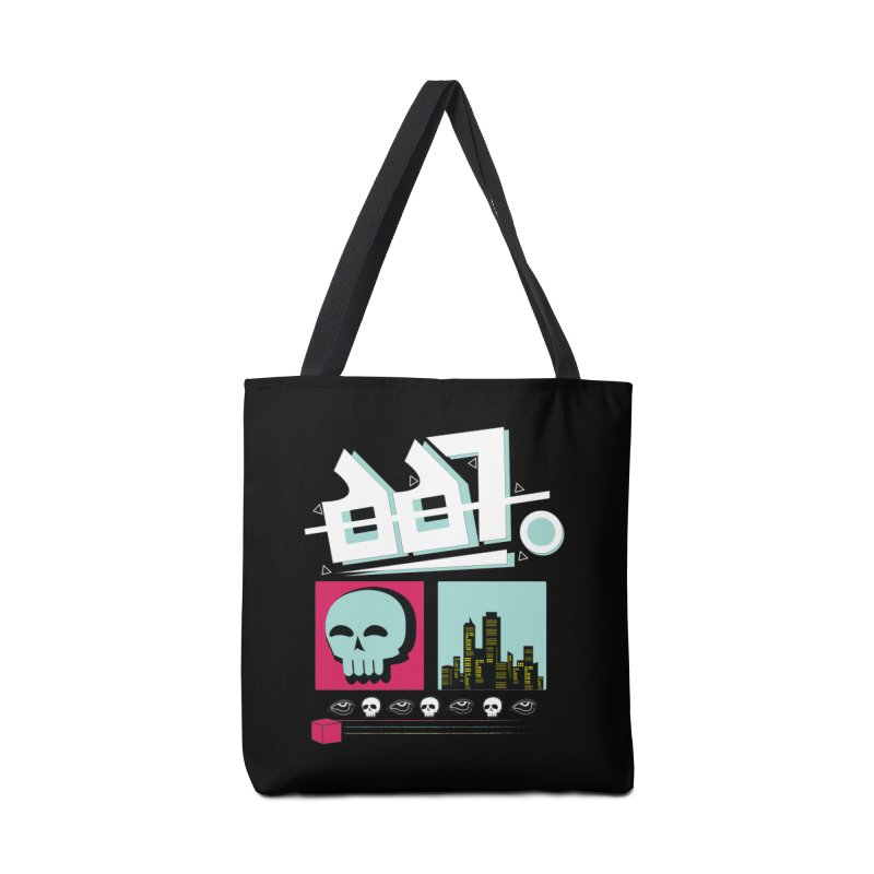 Spooky Art Accessories Tote Bag Bag by Viable Psyche