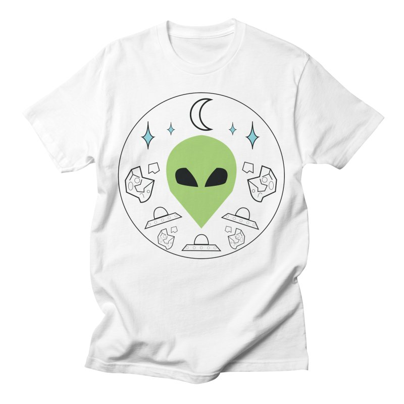 Asteroid Ayy Lmao Men's T-Shirt by Viable Psyche
