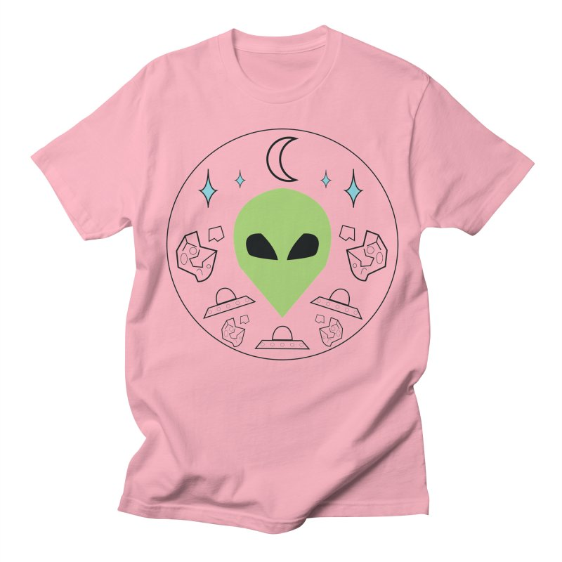 Asteroid Ayy Lmao Men's Regular T-Shirt by Viable Psyche