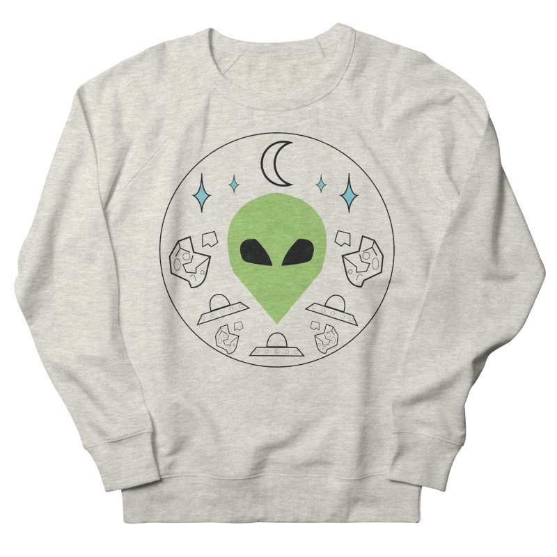 Asteroid Ayy Lmao Women's Sweatshirt by Viable Psyche