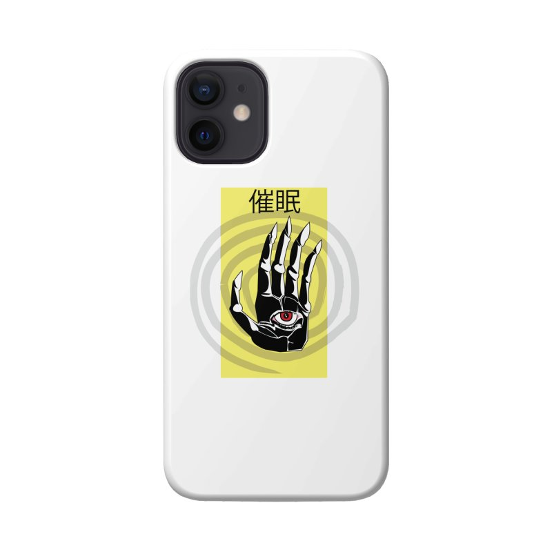 Hamsa Hypnosis Accessories Phone Case by Viable Psyche