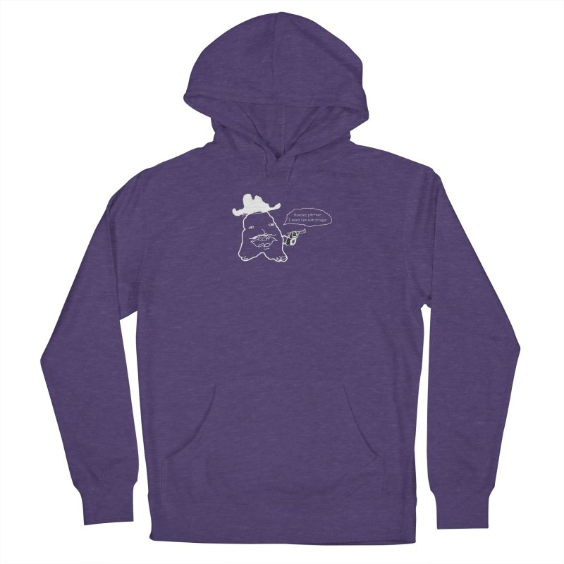 Howdee pArtner Women's French Terry Pullover Hoody by Viable Psyche