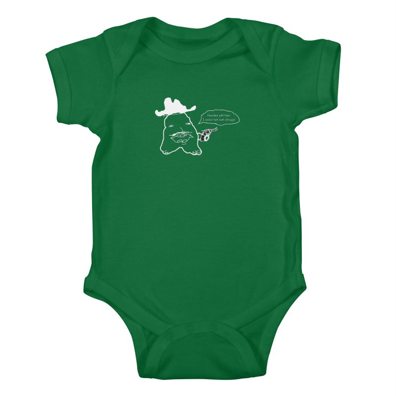 Howdee pArtner Kids Baby Bodysuit by Viable Psyche