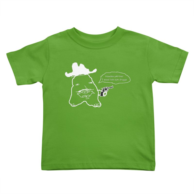 Howdee pArtner Kids Toddler T-Shirt by Viable Psyche