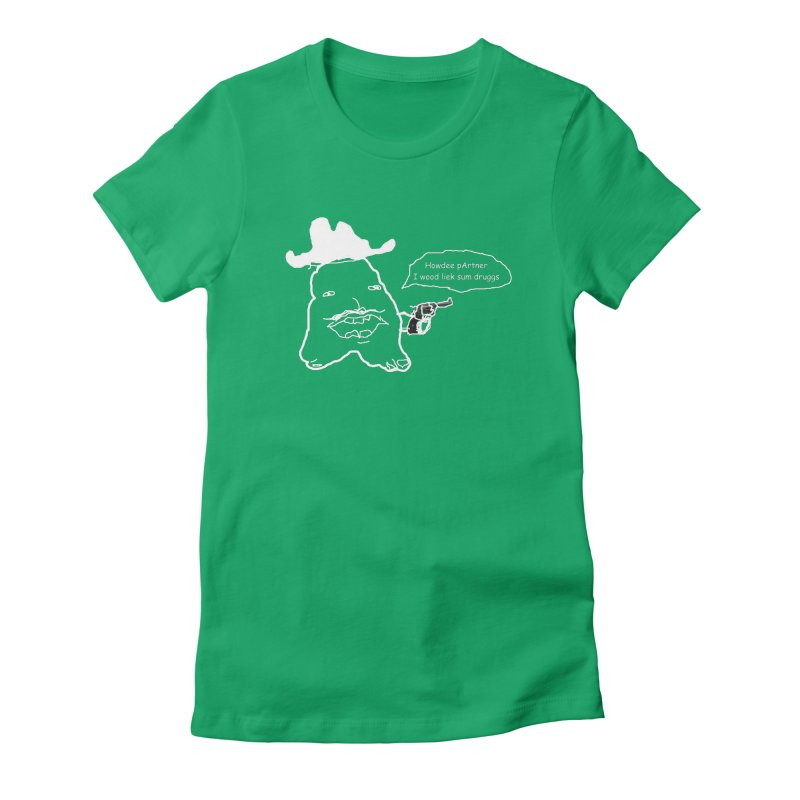 Howdee pArtner Women's T-Shirt by Viable Psyche