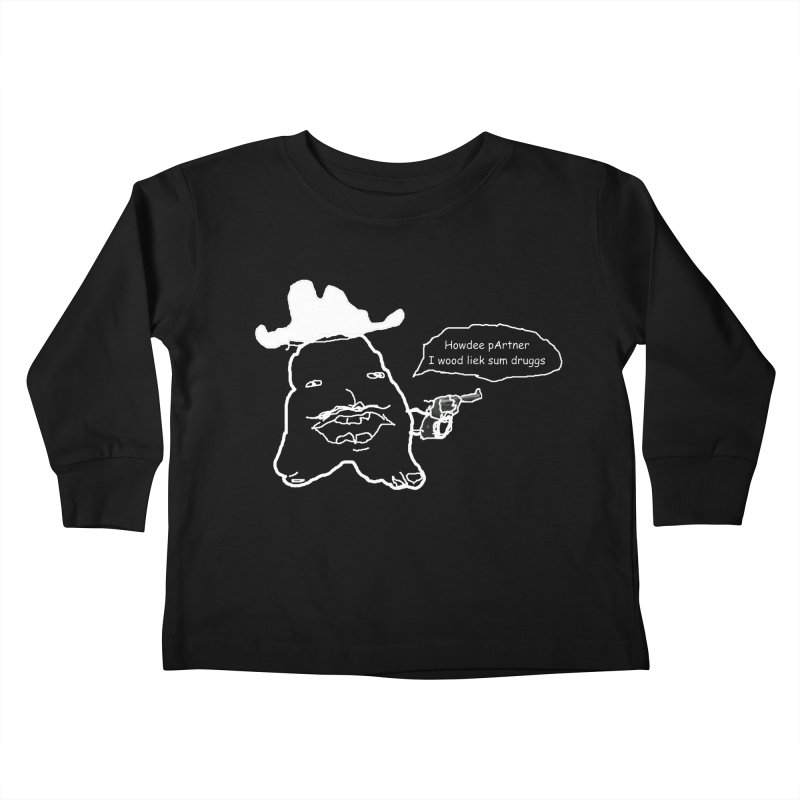 Howdee pArtner Kids Toddler Longsleeve T-Shirt by Viable Psyche