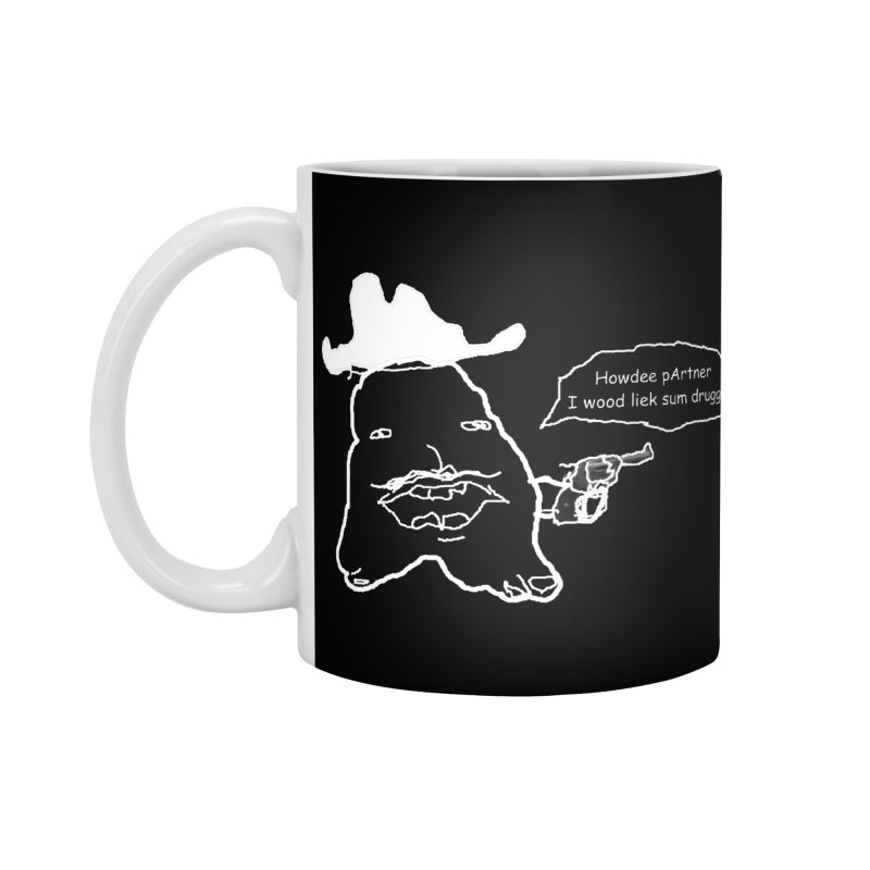 Howdee pArtner Accessories Standard Mug by Viable Psyche