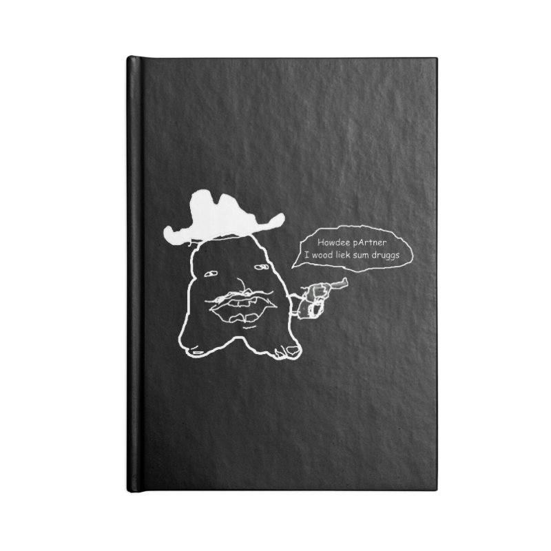 Howdee pArtner Accessories Lined Journal Notebook by Viable Psyche
