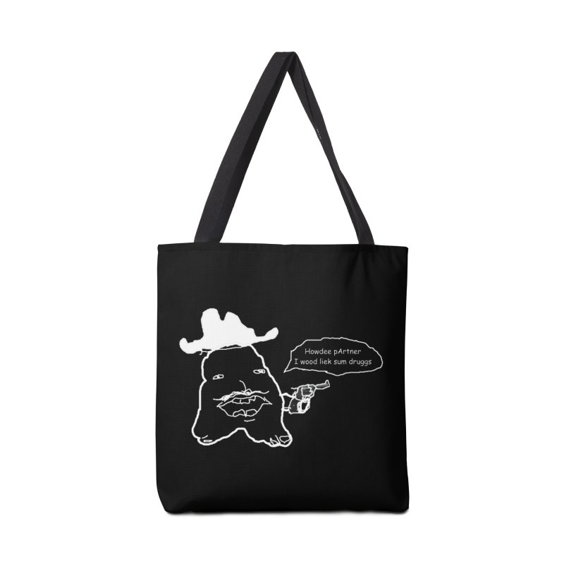 Howdee pArtner Accessories Tote Bag Bag by Viable Psyche