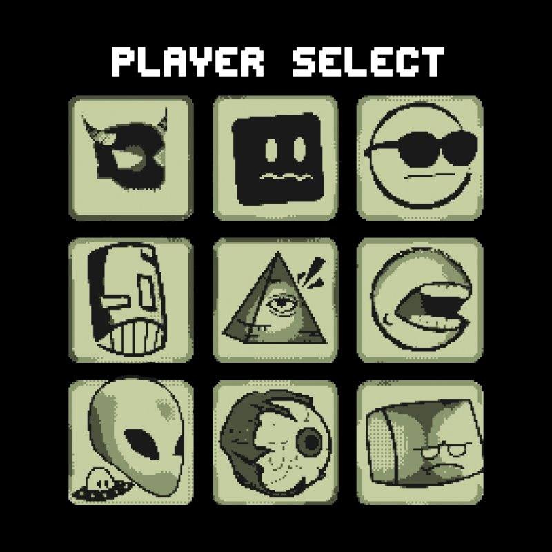 Player Select (Gameboy Edition) Kids Baby T-Shirt by Viable Psyche