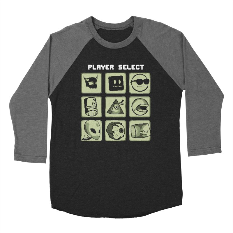Player Select (Gameboy Edition) Women's Baseball Triblend Longsleeve T-Shirt by Viable Psyche