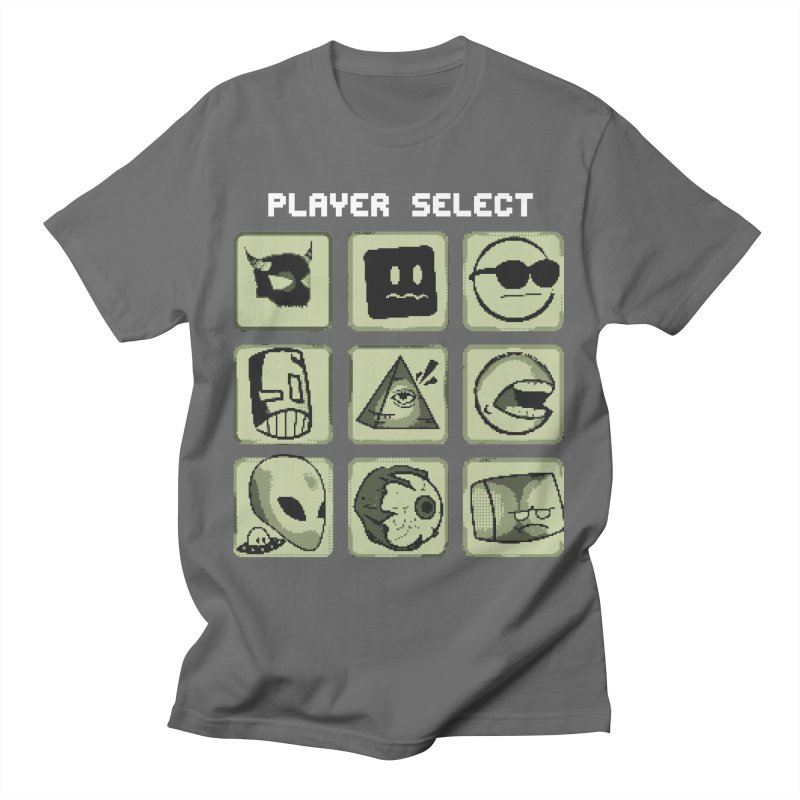 Player Select (Gameboy Edition) Men's T-Shirt by Viable Psyche