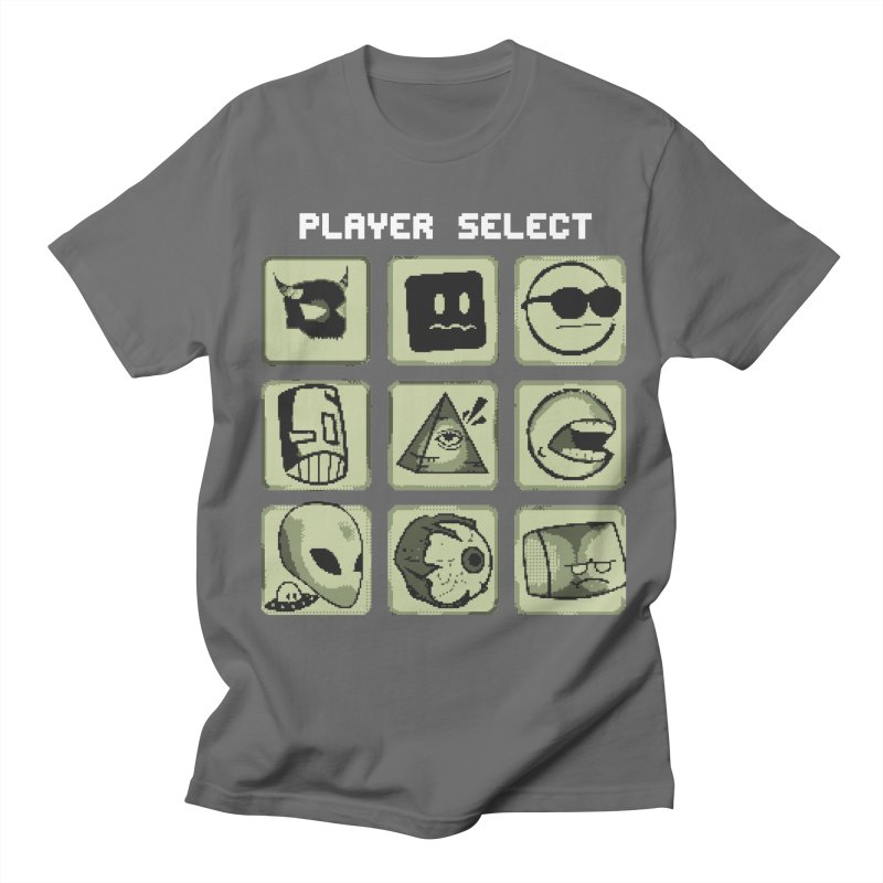 Player Select (Gameboy Edition) Men's Regular T-Shirt by Viable Psyche