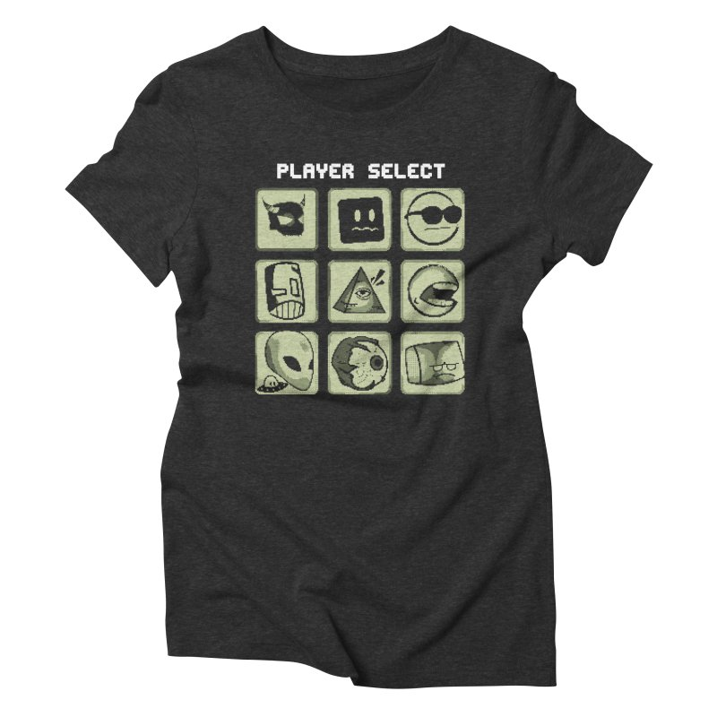 Player Select (Gameboy Edition) Women's T-Shirt by Viable Psyche