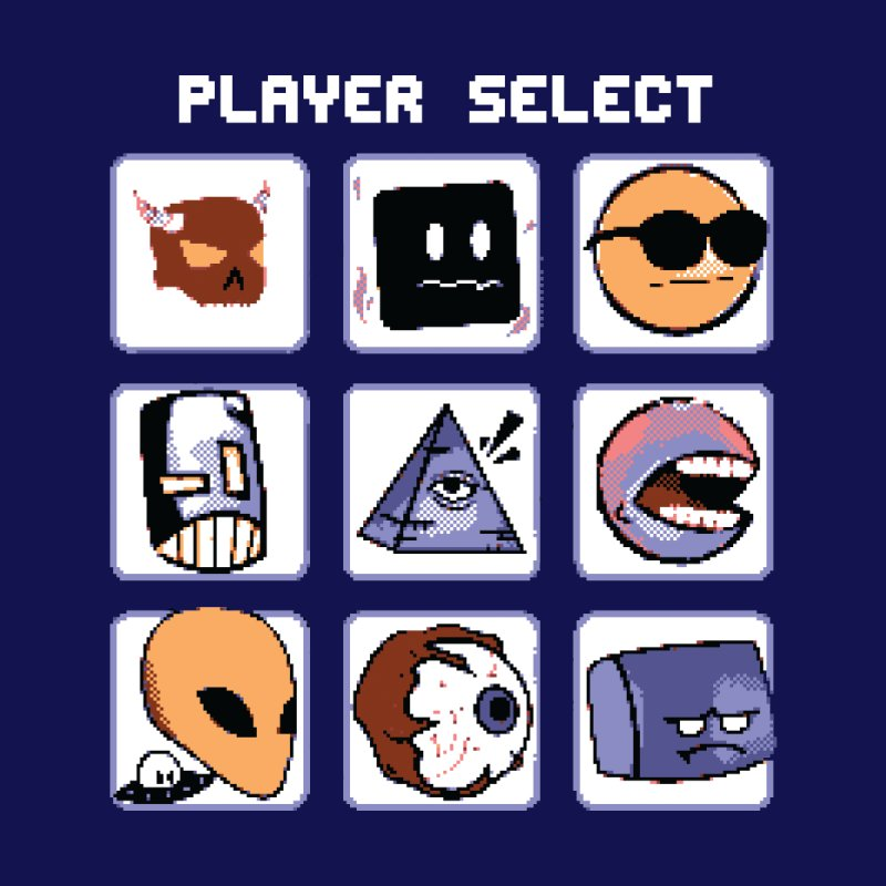 Player Select (Gameboy Color Edition) Accessories Notebook by Viable Psyche