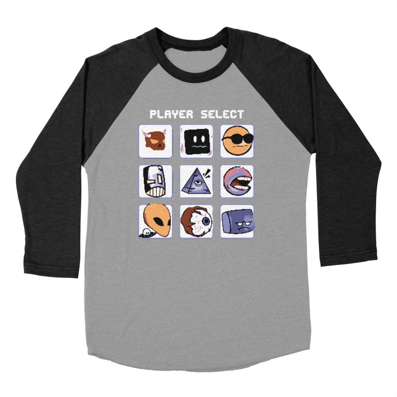 Player Select (Gameboy Color Edition) Men's Longsleeve T-Shirt by Viable Psyche