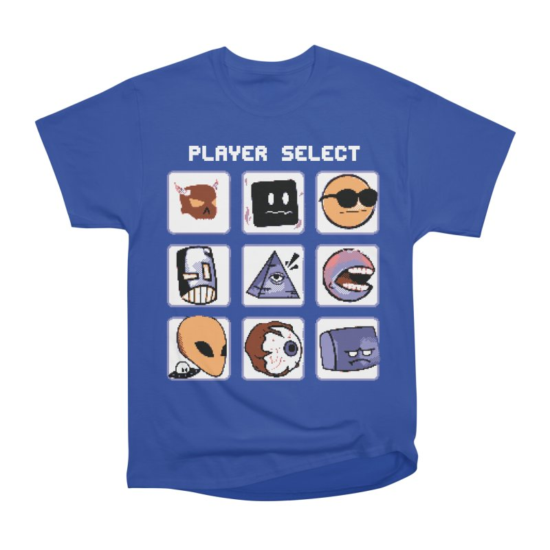 Player Select (Gameboy Color Edition) Men's Heavyweight T-Shirt by Viable Psyche