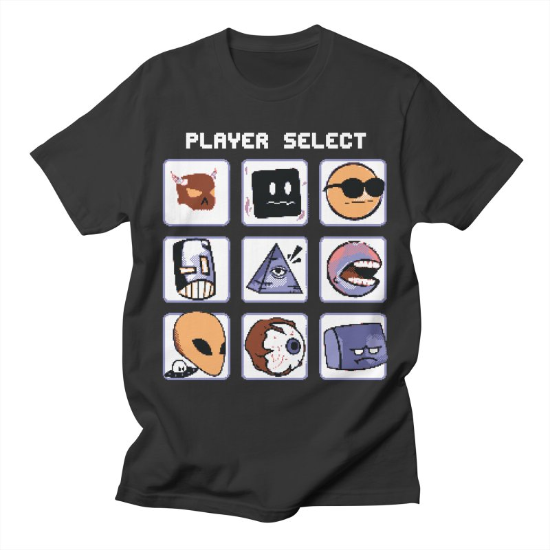 Player Select (Gameboy Color Edition) Women's Regular Unisex T-Shirt by Viable Psyche