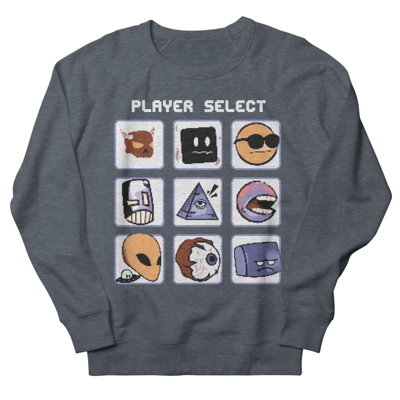 Player Select (Gameboy Color Edition) Women's French Terry Sweatshirt by Viable Psyche