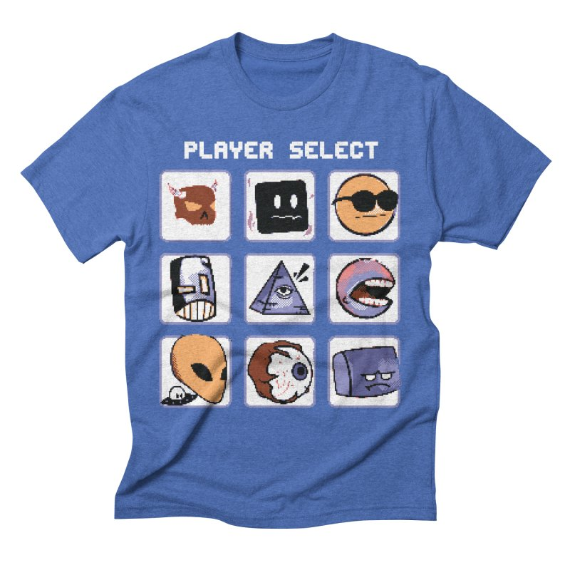 Player Select (Gameboy Color Edition) Men's T-Shirt by Viable Psyche