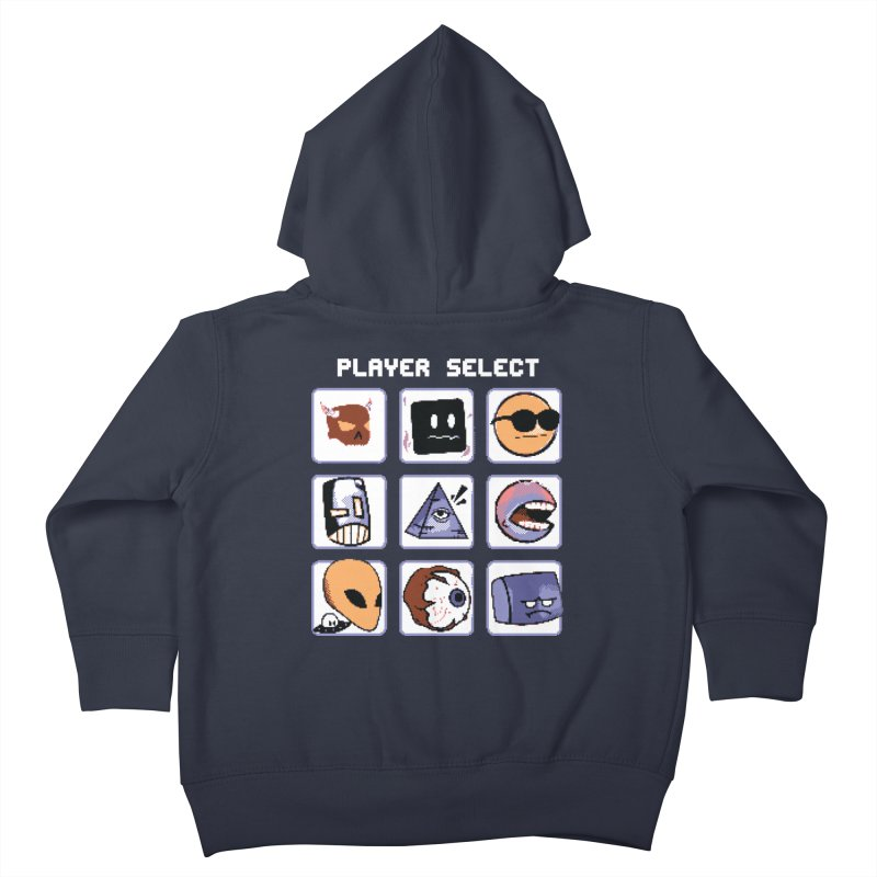 Player Select (Gameboy Color Edition) Kids Toddler Zip-Up Hoody by Viable Psyche