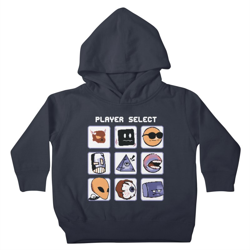 Player Select (Gameboy Color Edition) Kids Toddler Pullover Hoody by Viable Psyche