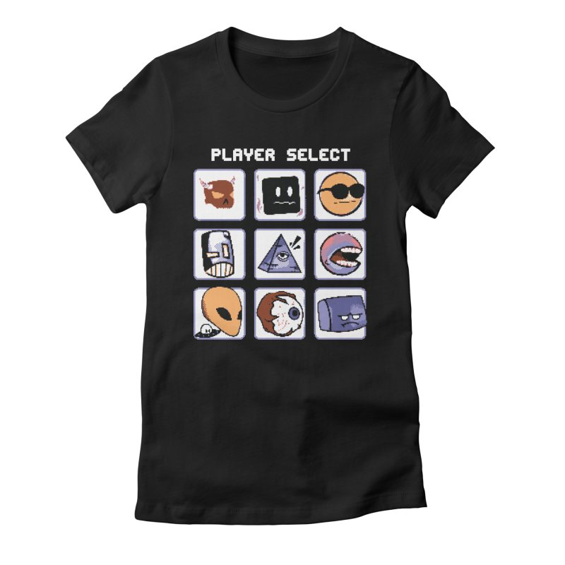Player Select (Gameboy Color Edition) Women's Fitted T-Shirt by Viable Psyche