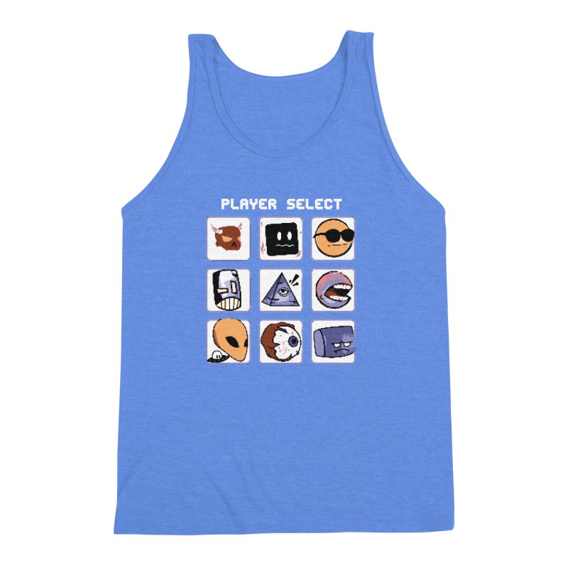 Player Select (Gameboy Color Edition) Men's Triblend Tank by Viable Psyche