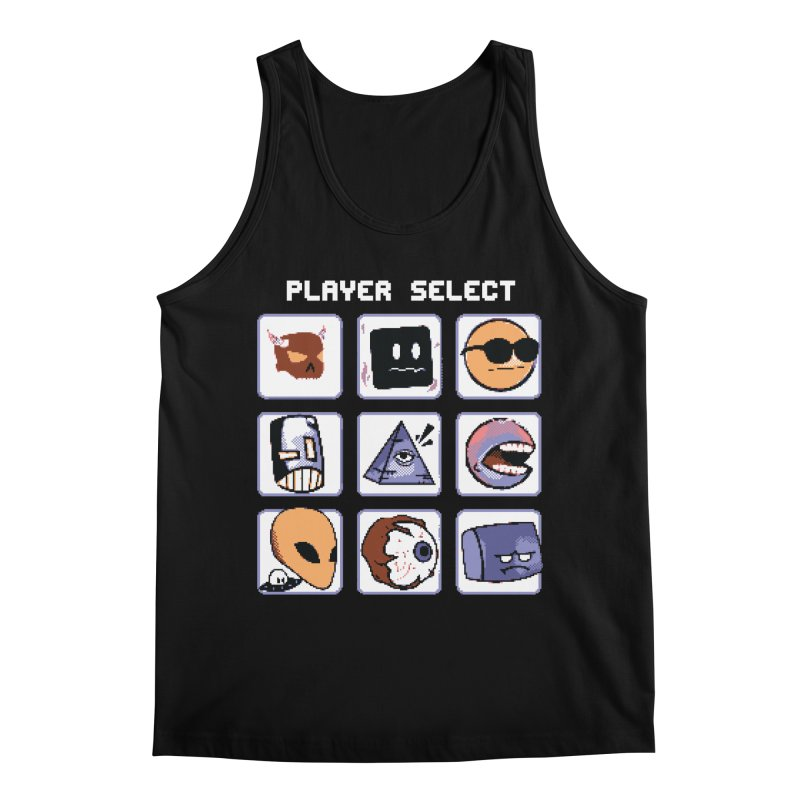 Player Select (Gameboy Color Edition) Men's Regular Tank by Viable Psyche