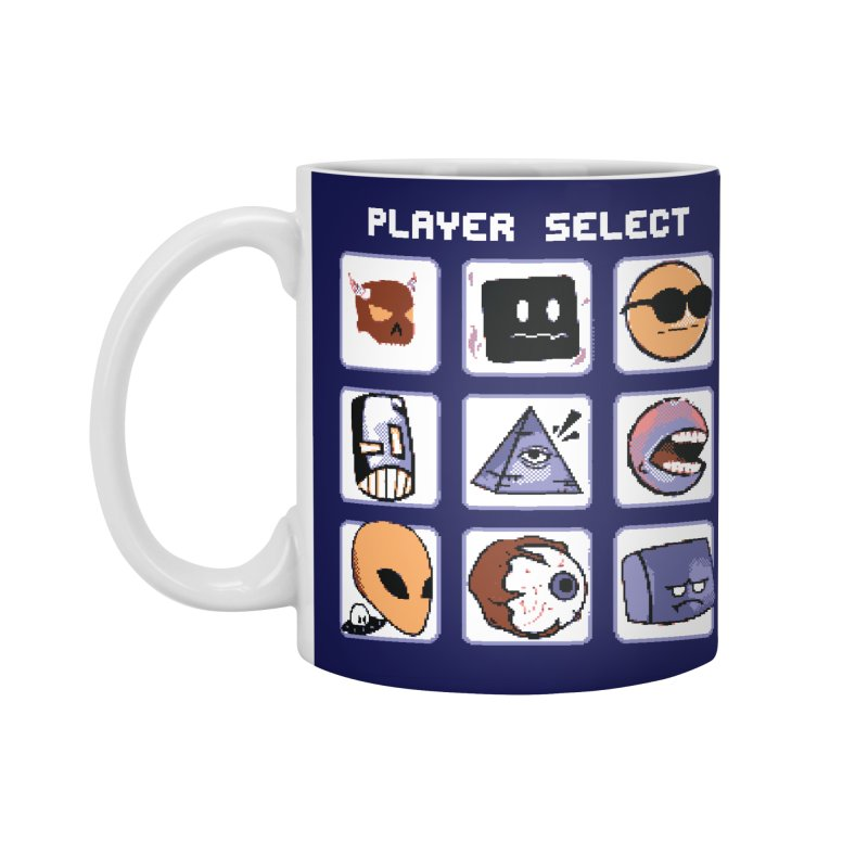 Player Select (Gameboy Color Edition) Accessories Standard Mug by Viable Psyche