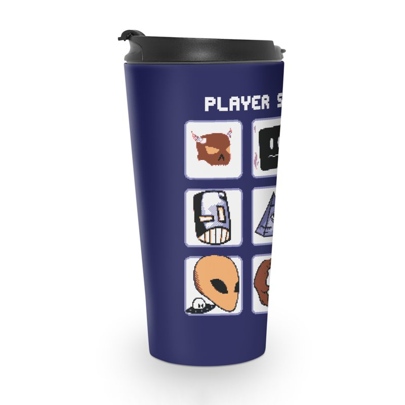 Player Select (Gameboy Color Edition) Accessories Travel Mug by Viable Psyche