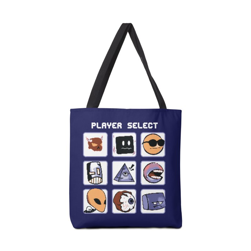 Player Select (Gameboy Color Edition) Accessories Tote Bag Bag by Viable Psyche