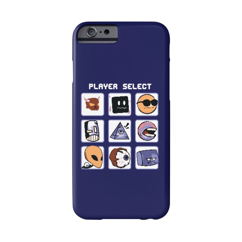 Player Select (Gameboy Color Edition) Accessories Phone Case by Viable Psyche