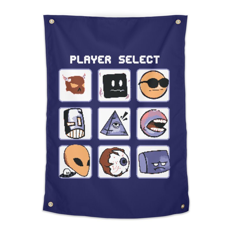 Player Select (Gameboy Color Edition) Home Tapestry by Viable Psyche