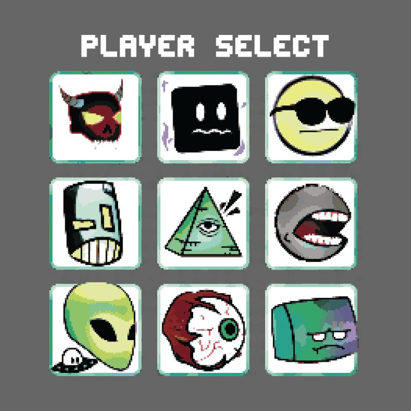 Player Select (NES edition) Home Mounted Acrylic Print by Viable Psyche