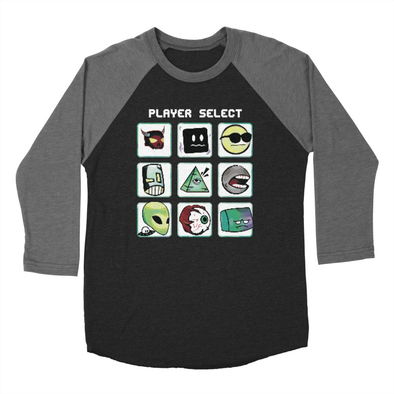 Player Select (NES edition) Women's Longsleeve T-Shirt by Viable Psyche