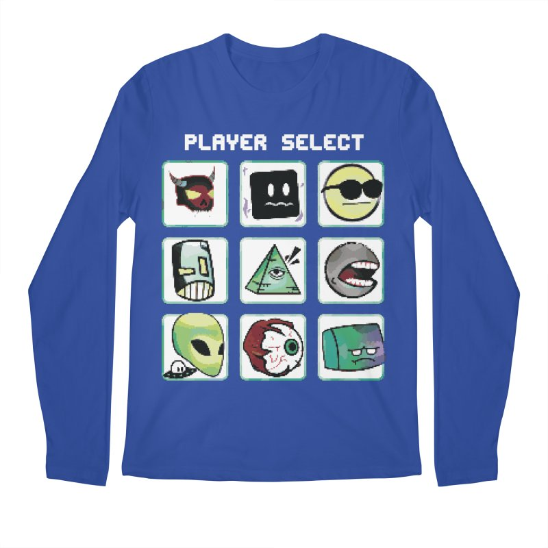 Player Select (NES edition) Men's Regular Longsleeve T-Shirt by Viable Psyche