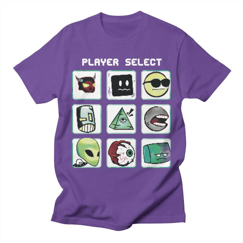 Player Select (NES edition) Women's Regular Unisex T-Shirt by Viable Psyche