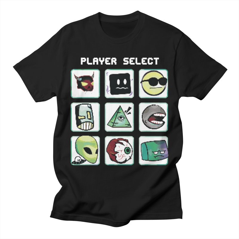 Player Select (NES edition) Men's Regular T-Shirt by Viable Psyche