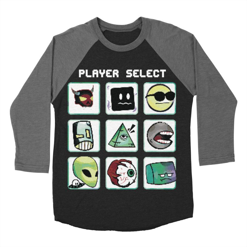 Player Select (NES edition) Women's Baseball Triblend Longsleeve T-Shirt by Viable Psyche
