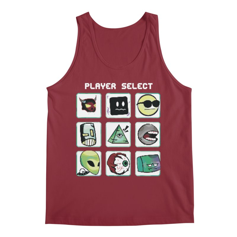 Player Select (NES edition) Men's Tank by Viable Psyche