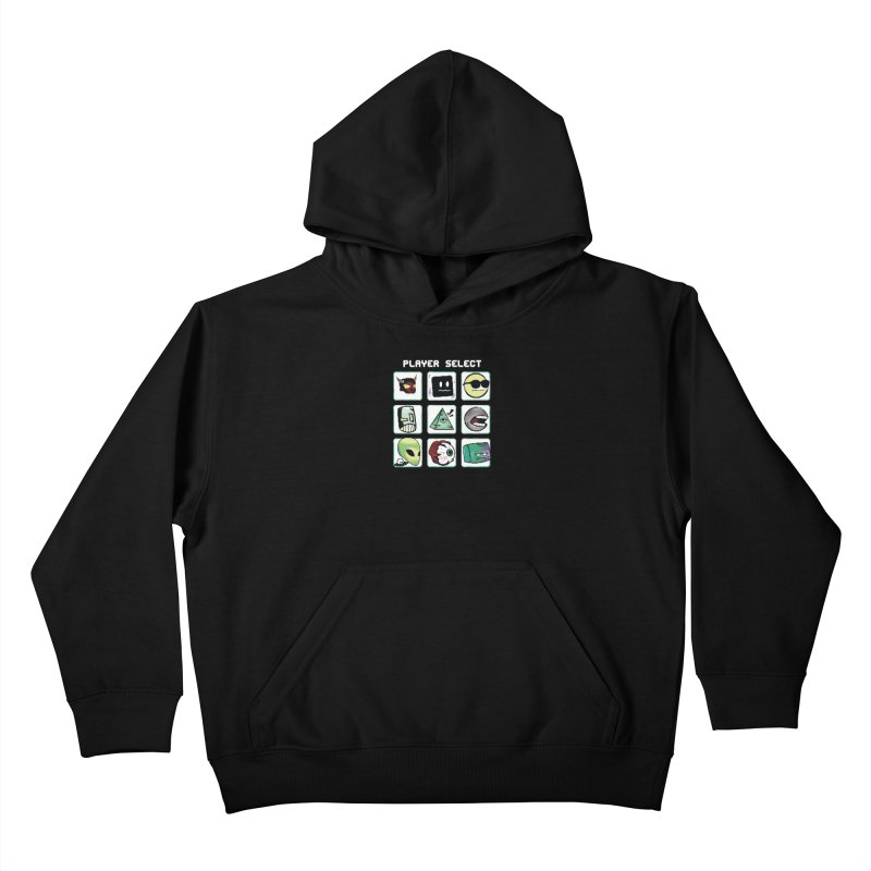 Player Select (NES edition) Kids Pullover Hoody by Viable Psyche