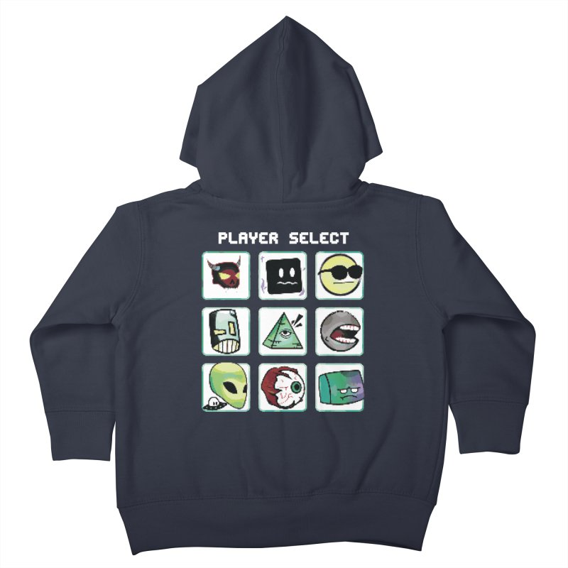 Player Select (NES edition) Kids Toddler Zip-Up Hoody by Viable Psyche